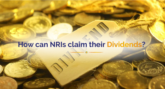 How can Nris claim their Dividends?