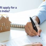 How can a NRI apply for a home loan in India