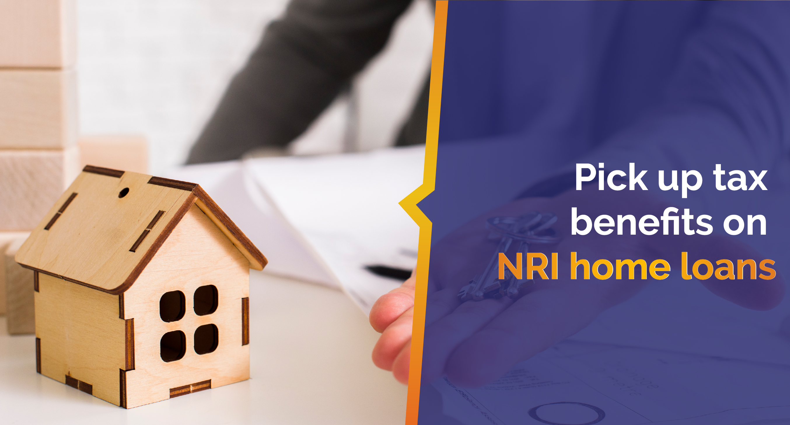Pick up tax benefits for NRIs home loans